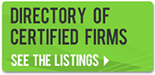 see the listings in the directory of certified firms