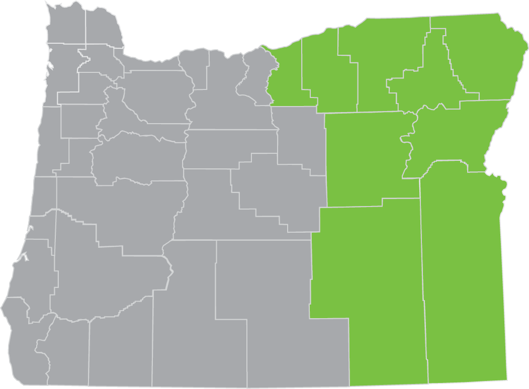 eastern oregon region