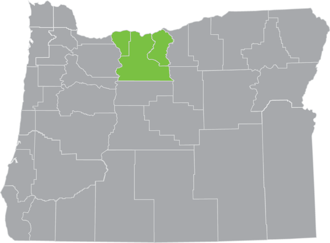 columbia gorge region